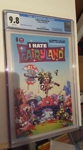 I Hate Fairyland #1, CGC Graded 9.8, Skottie Young