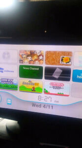 Wii system with retro gaming
