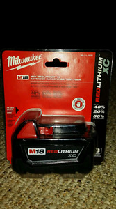 Milwaukee M18 XC Battery