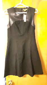 Brand New with Tags Medium Black Flared Dress