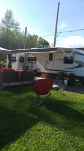Roulotte et set up keystone outback 295RE 2011
