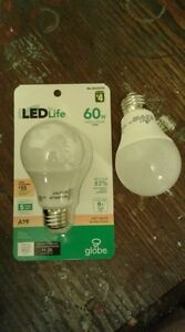 LED bulbs - one unopened one opened but never used.
