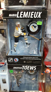 MARIO LEMIEUX PITTSBURGH PENGUINS MCFARLANE HOCKEY FIGURE