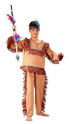 Indianer Kostüm für Kinder Indianerkostüm Kinderkostüm Fasching Gr. 110 - 140