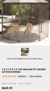 Indoor/ Outdoor Dog Kennel