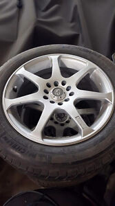 "16"" Core Racing Rims/Tires"