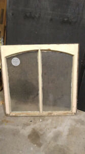 Arched Antique Window
