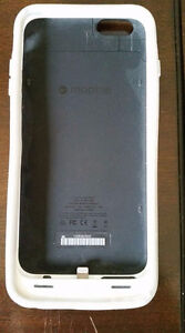 Mophie Battery Packs for iPhone5 and 6+.