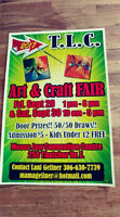TLC Art and Craft Fair: Calling All Artists and Crafters