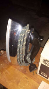 Vintage 1950's GE Steam and Dry Iron- Good Condition! Works fine