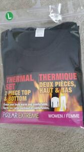 NEW -- Women's 2-Piece Polar Fleece Set -- Large