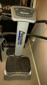 Work out vibrating machine