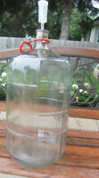 Wine 5 Gallon Glass Carboy  Airlock & Stopper Handle $25.00 Each