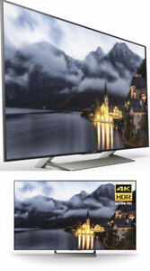 sony x900e 55in. uhd television tv **barely used**  without box.