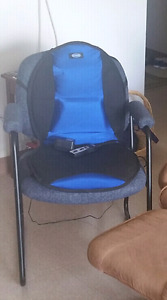 Chair with heated cusion