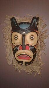 Masque décoratif mural Saguenay Saguenay-Lac-Saint-Jean image 1