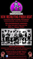 Roller Derby Fresh Meat Wanted