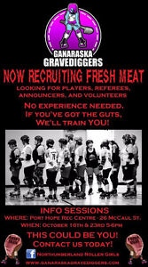 Roller Derby Fresh Meat Wanted Peterborough Peterborough Area image 1