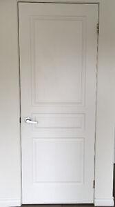 Porte 30 pc x 80 avec poignée