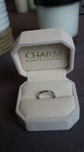 New White Gold Wedding Band from Charm Diamonds