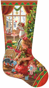 Brand new sealed 800 pc jigsaw A Girl's Stocking