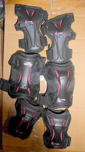 Like NEW Firefly safety gear for rollerblading, kid's size Kitchener / Waterloo Kitchener Area image 1