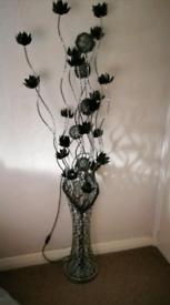 Large flower lamp