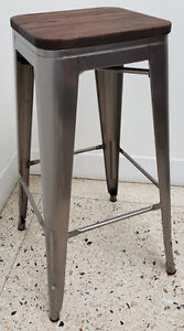 RESTAURANT INDUSTRIAL TOLIX METAL DINING CHAIR BAR STOOL Cambridge Kitchener Area image 3