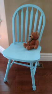 Blue Chalk Painted Chair