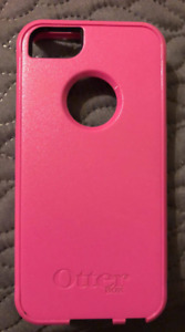 Pink Otterbox Shell for iphone 5/5s/SE