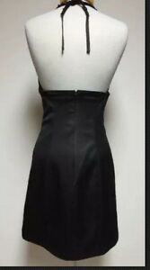 Guess black halter strap size 7 dress London Ontario image 2
