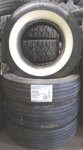 Good Used Tires P215/75R14 (White Walled)==70% tread—FOUR TIRES