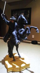 Weta Collectibles Zorro on Tornado Statue