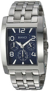 Roberto Bianci Men's Casual Beneventi Analog Blue Dial Watch