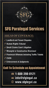 FREE CONSULTATIONS - TRAFFIC TICKET OR CVOR CHARGE? NO PROBLEM