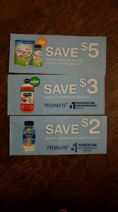 Coupons for trade