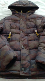 Boys M&S Quilted Jacket 9-10years