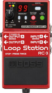 Pédale loop station Boss RC-3