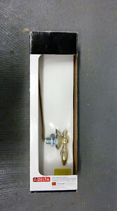 *NEW*Delta Toilet Flush Lever Modern Contemporary Elegant Brass