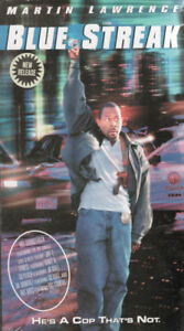 Blue Streak with Martin Lawrence Brand New & Sealed Package VHS