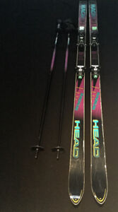 Head Magnum Skis and Poles