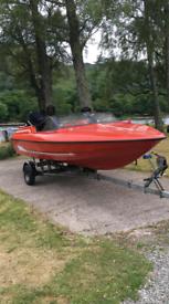 Fletcher Speedboat 90hp Mercury Outboard