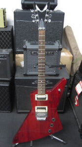 Dean Z-Series Explorer-style Electric Guitar (Red)