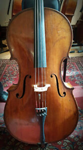 Full size  professional American cello from 1900