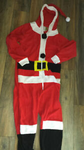 SAnta Claus suit and othe  Christmas  decorations
