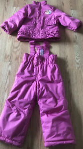 **TODDLER GIRL DISNEY PRINCESS SNOWSUIT FOR SALE-SIZE 2**