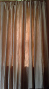 "TWO PANEL DRAPES FOR A 60"" TO 80"" WIDE WINDOW OR PATIO DOOR"