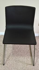 IKEA LEATHER DINING / DESK CHAIRS (2) – BERNHARD
