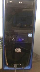 INTEL CORE i7-2600 cpu @ 3.40ghz 8 Gig RAM - Cooler Master tower