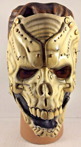 Halloween Grim Reaper Skeleton Latex Death Mask With Straps